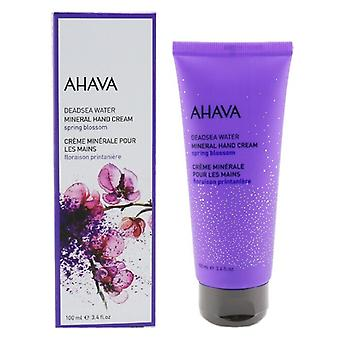 Ahava Deadsea Water Mineral Hand Cream-Frühlingsblüte 100ml/3.4oz