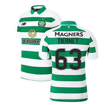 2019-2020 Celtic Home Shirt (Tierney 63)