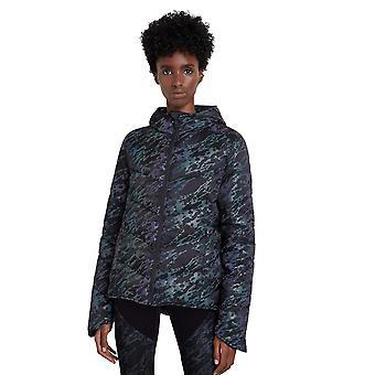 Desigual Iridescent Padded Reversible Black Jacket 20WOEW17