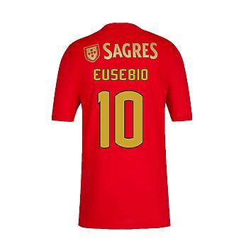 2020-2021 Benfica Home Shirt (EUSEBIO 10)