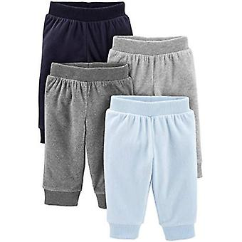 Simple Joys von Carter's Baby Boys' 4-Pack Fleece Hose