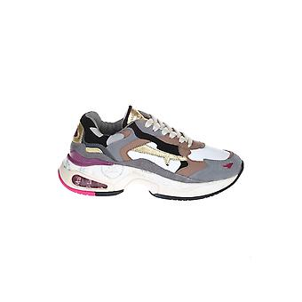 Premiata Sharkyd026 Women's Multicolor Leather Sneakers