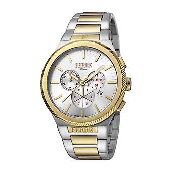 Ferre Milano Men's FM1G092M0071 Chronograph Two-Tone IP Steel Date Watch