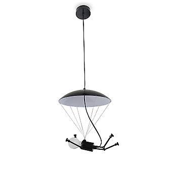 Suspension lamp robot lamp Robo-P black E-27 x 30 cm 10891