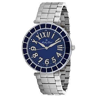 Mathey Tissot Men's Mosaique Blue Dial Watch - H6001ABU