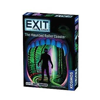Exit the Game the Haunted Rollercoaster Card Game