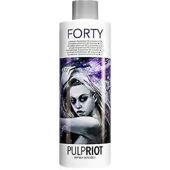 Pulp Riot Vegan Friendly & Cruelty Free Premium Scalp Developer - 40 Vol/ 12% 887ml