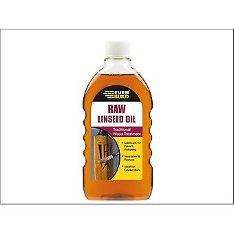 Everbuild Raw Linseed Oil 500ml