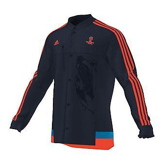 Adidas UCL Anthem Jacke (Navy-Orange)