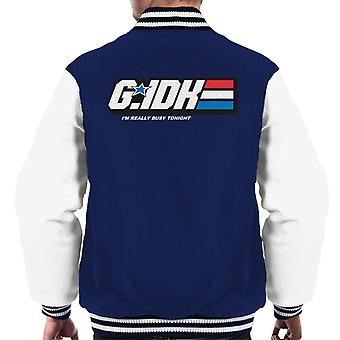 GI Joe Gee I Dont Know Men's Varsity Takki