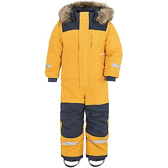 Didriksons Bjornen 4 Kids Snowsuit | Mellow Yellow