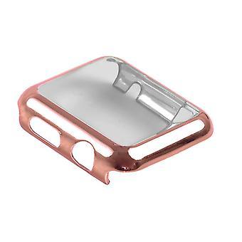 Strapsco Apple Uhr Serie 1 Silber Schutzhülle mit eingebautem Touchscreen-Protektor
