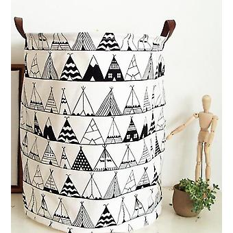 Nordic Style Canvas Storage, Organizer Bag