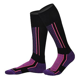 Winter Ski Sport Socken Frauen Mann Thermal lange warm atmungsaktive Schneesport