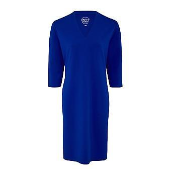PENNY PLAIN Sapphire High Back V-Neckline Dress