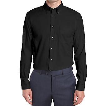 Straight cut buttoned collar shirt