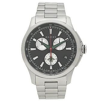 גוצ'י YA126267 G-נצחי הכרונוגרף שחור חיוג גברים & apos;s שעונים