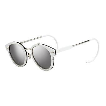 Dior Magnitude01 S83/DC Palladium Valkoinen/Hopea peili Aurinkolasit