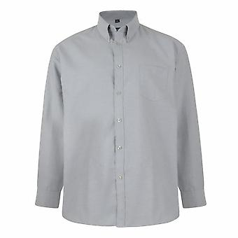 KAM Jeanswear Long Sleeve Oxford Shirt
