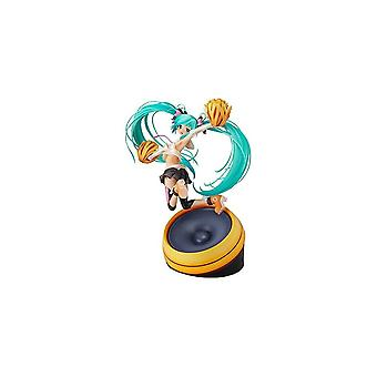 Character Vocal Series 01 Hatsune Miku Character Vocal Series 01 1/8 Scale Hatsune Miku Figure Cheerful Ver. Pre-Owned