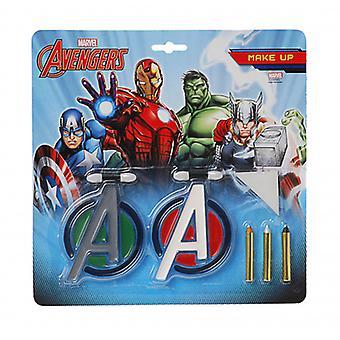 Face Paint Set Avengers Boys 8-Piece