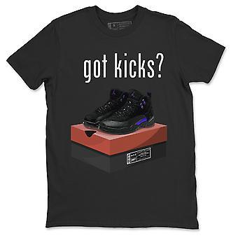 Fick Kicks T Shirt Jordanien 12 Dark Concord Sneakers Outfit - AJ12 Topp