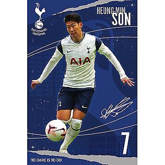 Tottenham Hotspur FC Son Heung Min Affisch