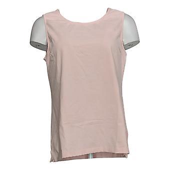 Coleção Joan Rivers Classics Women's Top Stretch Tank Pink A295141