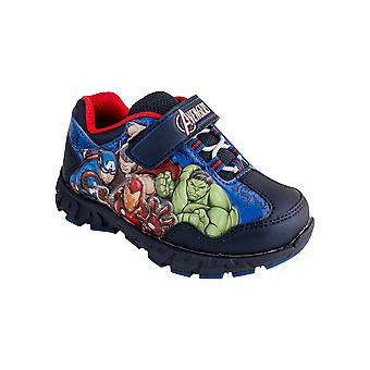 Marvel Мстители собрать готовы бороться Light Up Детская обувь