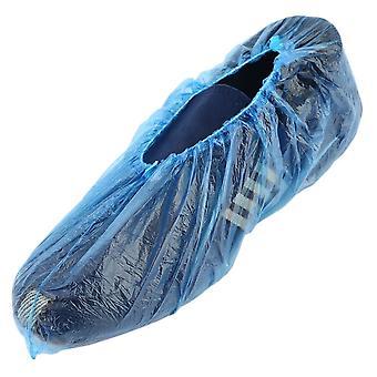 Kertakäyttöiset muoviset kenkäkannet, huoneet ulkona Vedenpitävä Sadesaappaanhoitosarjat