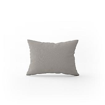 Kissenbezug Doppel Farbe grau Baumwolle, L52xP82 cm