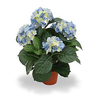 Keinotekoinen Hydrangea Deluxe 45 cm sininen