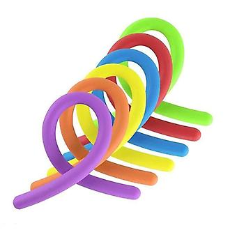 Soft Rubber Noodle Elastic Rope Toy (6pcs)