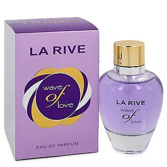 La Rive Wave Of Love Eau De Parfum Spray Por La Rive 3 oz Eau De Parfum Spray