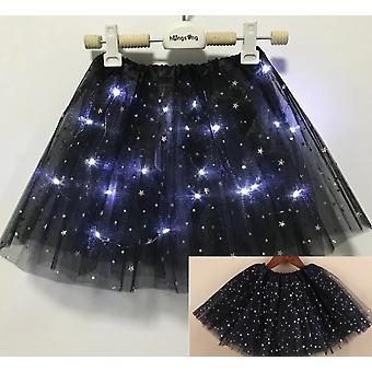 Light Led Clothes, Star Tutu Skirt