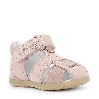 PRIMIGI Closed In Sandal In Pink Pearlescent
