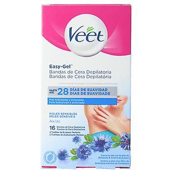 Veet Armpit Wax Bands Sensitive Skin 16 units