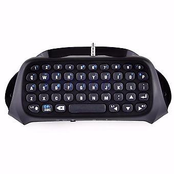 Oyun 4 Denetleyicisi için Kablosuz Bluetooth Klavye Tuş Takımı Chatpad