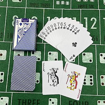 بطاقات اللعب الجديدة البلاستيك Baccarat تكساس هولدم بوكر بطاقات Pvc بوكر المجلس