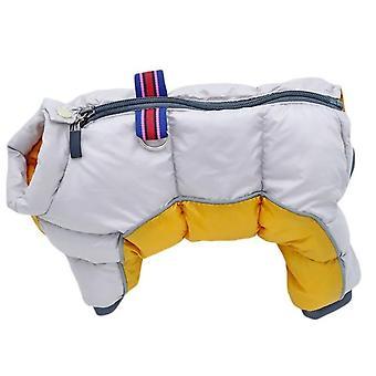 Winter Haustier Hund Kleidung super warme Jacke dicker Baumwolle Mantel wasserdicht kleine Hunde Haustiere Kleidung Französisch Bulldogge Welpen