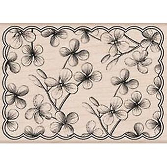 Hero Arts Floral Scallop - Wood Mounted Stamps