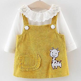 かわいい赤ちゃんのドレス、花の赤ちゃんの服プリンセスドレス