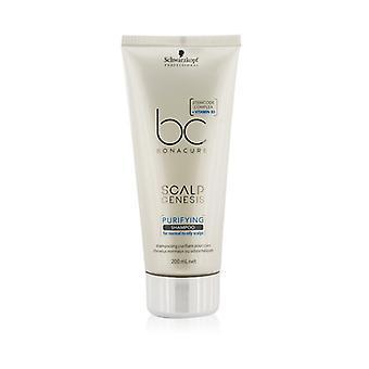 Schwarzkopf BC Bonacure Kopfhaut Genesis Purifying Shampoo (für normale bis fettige Kopfhaut) 200ml/6,7 oz
