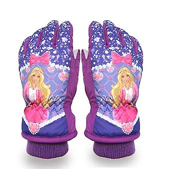 Cartoon Kids Winter Warm Snowmobile Ski Gloves