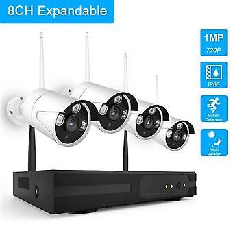 K9604 8CH NVR+4 Cameras Wireless NVR Kit