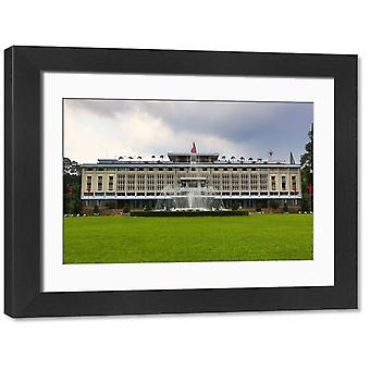 The Reunification or Independence Palace, Ho Chi Minh City (Saigon), Vietnam. Large Framed Photo..