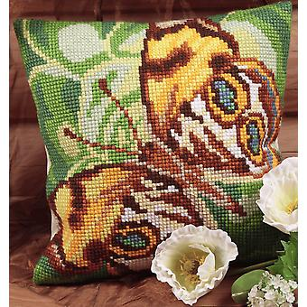 Collection d'Art Cross Stitch Kit: Cushion: Mystery