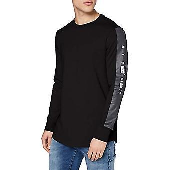 G-STAR RAW GS Raw Sleeve Logo+ T-Shirt, Dk Svart C336-6484, M Herr