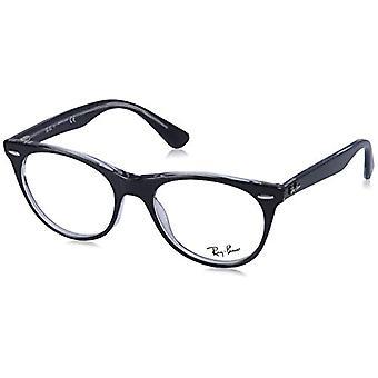Ray-Ban Wayfarer II Reading Glasses, Black, 50 Unisex-Adult