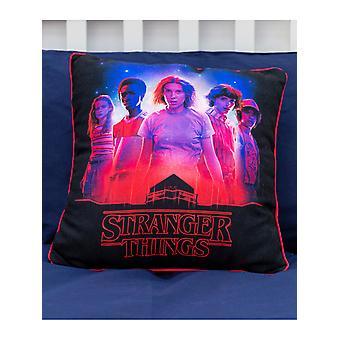 Stranger Things Darkside Filled Cushion